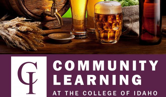 Beer brewing as one of the courses in 2018 Spring for C of I Community Learning