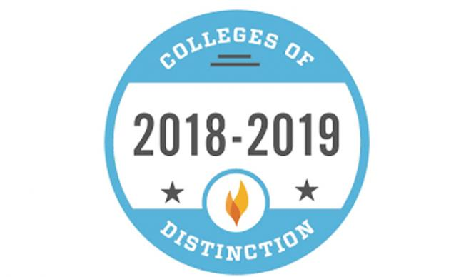 College of Distinction Logo