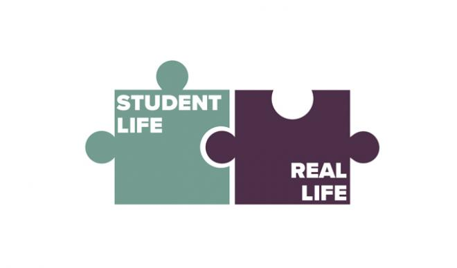 Student Life to Real Life logo