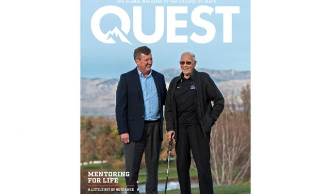 Quest Magazine cover