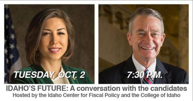 Gubernatorial candidates Paulette Jordan and Brad Little will hold their  first on-stage discussion at d357d56124fa5